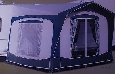 Bradcot Portico Xl Blue Grey Used 3 Times Fits Caravan