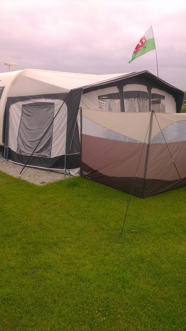 Bradcot Olympian Awning Grey And Pearl 945 Awning Size 3