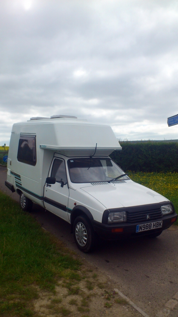 1996 romahome hytop citroen c15 diesel new cambelt water pump vacuum pump tyres central. Black Bedroom Furniture Sets. Home Design Ideas